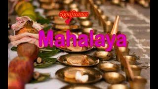 MAHALAYA ( Significance ) |Durgapuja Special | Nonsense Mani | Yogiraj Music