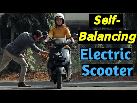 IIT Students made India's First Self Balancing Electric Scooter