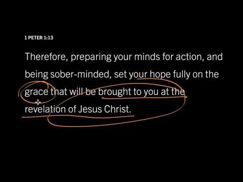 1 Peter 5:12 // We Get Grace, God Gets Glory