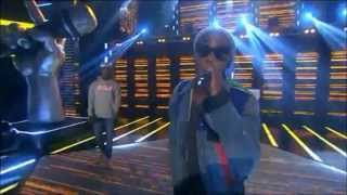 Tinie Tempah ft. Omar - Written In The Stars - The Voice Norway 2012 [HQ]