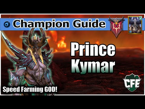 RAID Shadow Legends | Champ Guide | Prince Kymar 2.0 UPDATED!