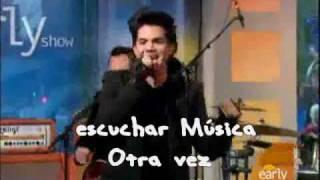 Music Again - Adam lambert - Subtitulado en Español