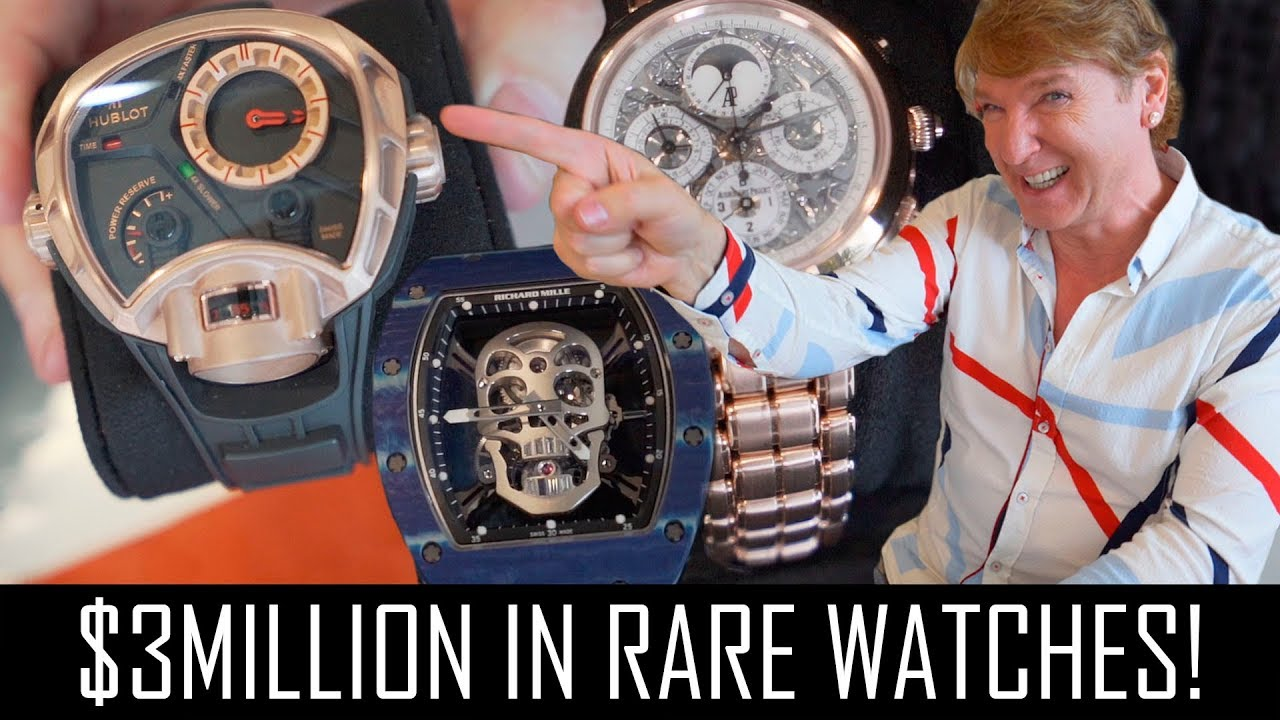 Million In Rare Luxury Watches!
