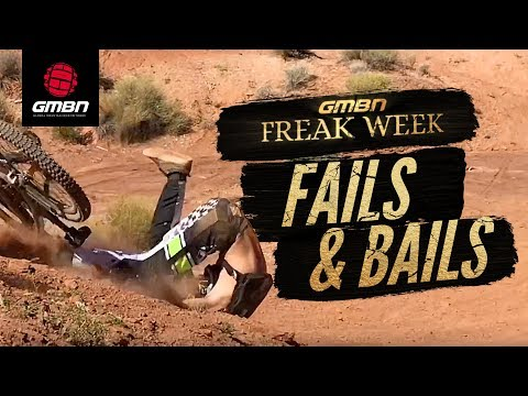 The World's Freakiest Fails And Bails | Freak Week MTB Crash Compilation Special