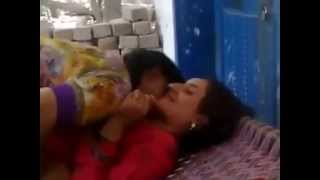 pakistani girls kissing and having fun width=