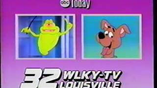 Slimer and The Real Ghostbusters / A Pup Named Scooby Doo TV Ad - 1990