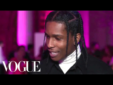 A$AP Rocky on Wearing Jeans to the Met Gala | Vogue