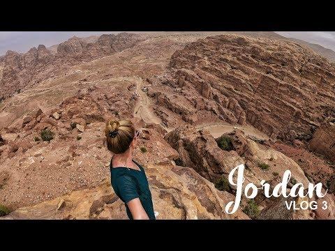 Petra, Jordan: Serious rock climbing | Road Trip Vlog 03