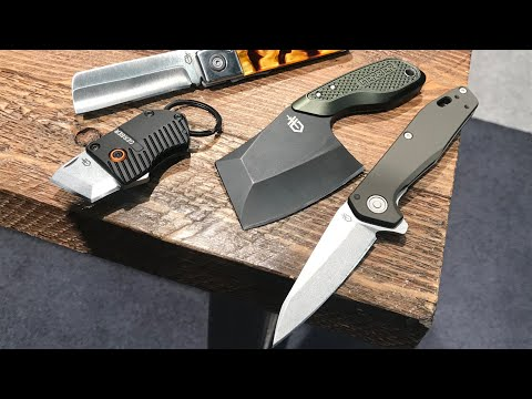 New EDC Blades from Gerber: Fastball (S30V), Tri Tip Cleaver, Jukebox, Keynote Keychain Knife