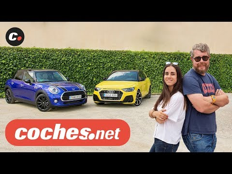 Audi A1 Sportback vs MINI Cooper 2019 | Prueba Comparativa / Test / Review en español | coches.net