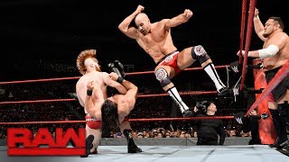 Seth Rollins, Dean Ambrose & Jason Jordan vs. Samoa Joe, Sheamus & Cesaro: Raw, Dec. 18, 2017