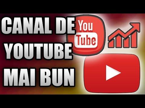 SFATURI PENTRU UN CANAL DE YOUTUBE MAI BUN