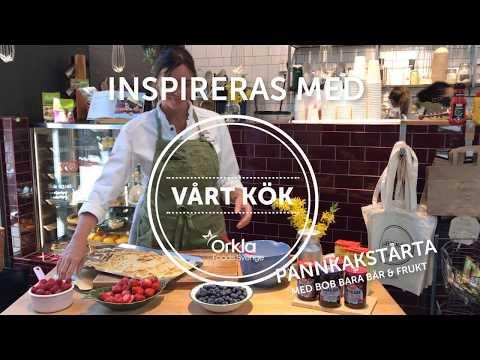 Inspireras med Vårt Kök: Pannkakstårta med BOB bara bär & frukt