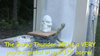 Hornady Crit Defense 380 - Bersa Thunder vs. Ballistics Skull - Penetration Test