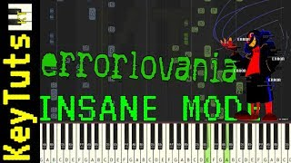 Learn to Play Errorlovania from Errortale (Undertale AU) - Insane Mode