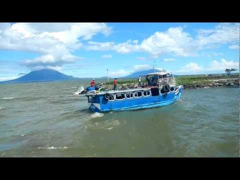 chicken ferry~Ometepe Island , Nicaragua