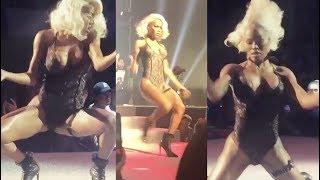 "Teyana Taylor goes off dancing to Future's ""Mask Off"" on runway (NYFW 2017)"