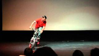 """""""Rad"""" 25th Anniversary Screening Uptown Theatre - Bicycle Boogie On Stage"""