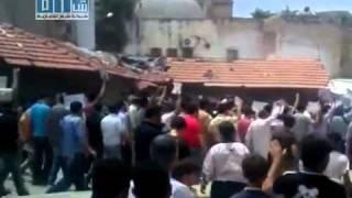 شام - اريحا مظاهرات جمعة حماة الديار 27-5 ج2