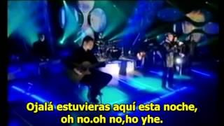 Robin Gibb  'Wish You Were Here'  vivo SUBTITULADA.