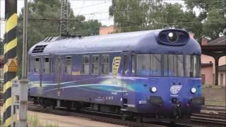 Vlaky v stanici Pardubice hlavní nádraží