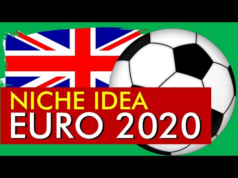 TREND ALERT: Euro 2020 Soccer Print on Demand Niche for Redbubble, Teepublic or T-Shirt Business