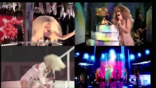 Lady Gaga - Venus (LIVE COMPARISONS)