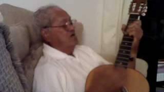 Grandpa Yandall sings a siva Samoan song