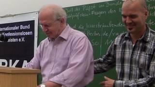 Vatikans Finanzgeschäfte Dr. Carsten Frerk Vortrag