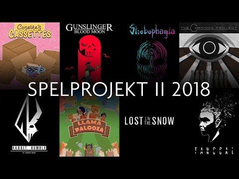 Redovisning Spelprojekt II - 2018