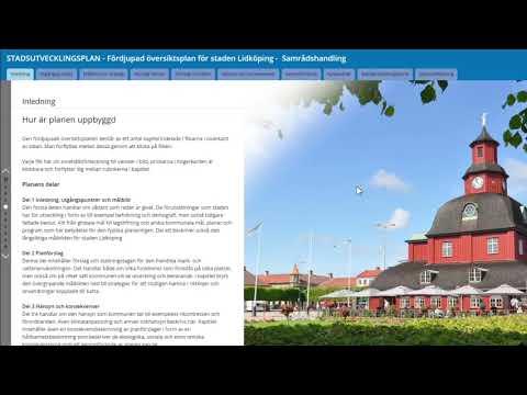 Läsanvisning digital stadsutvecklingsplan