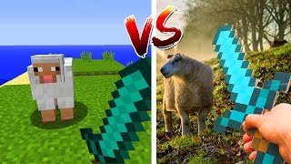 MINECRAFT vs REAL LIFE 2
