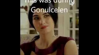 Tuba Buyukustun was asked if she was in love during during Gonulcelen