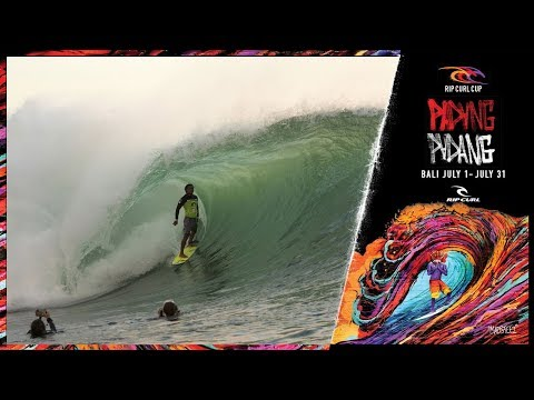 The Wildcards | Rip Curl Cup 2018, Padang Padang, Bali