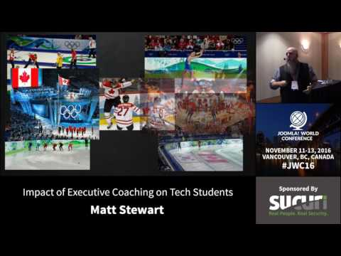 JWC 2016 - Impact of Executive Coaching on Tech Students - Matt Stewart