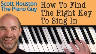 Vocal Range - How to Know What Key to Sing in for a Specific Song width=