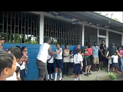 Visiting Kids in Nicaragua