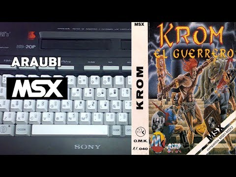 Krom (OMK, 1989) MSX [325] Walkthrough