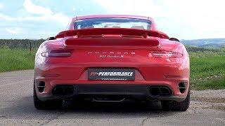 780HP Porsche 991 Turbo S PP-Performance POPS  BANGS!!