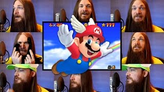 Super Mario 64 - Wing Cap Acapella (Mario Starman Theme)