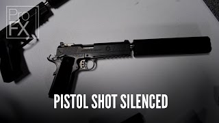 Pistol shot silenced sound effect | ProFX (Sound, Sound Effects, Free Sound Effects)