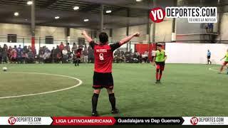 Guadalajara vs. Deportivo Guerrero Juego de Ida Champions Liga Latinoamericana