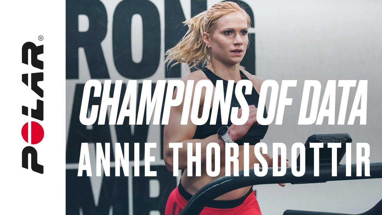 How Annie Thorisdottir trains with data