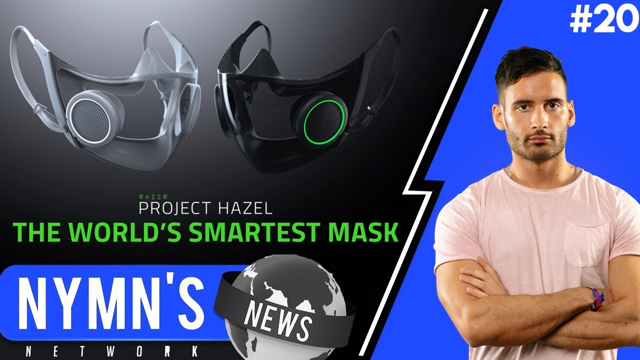NymN - razer's smart n95 face mask | NymN's News Network [18.01.2021]