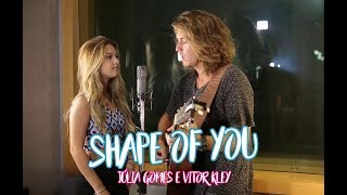 """Shape of you"" - Júlia Gomes e Vitor Kley"