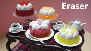 debika #2 - Cake Shaped Erasers Making Kit