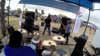 The Cuveralls Live Tailgate 2013 (Can't Get Enough of your love) cover