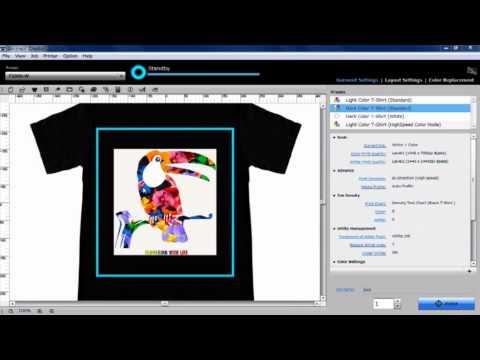 SureColor F2000 Garment Creator Software