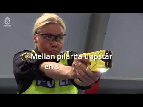Polisen inför elchockvapen