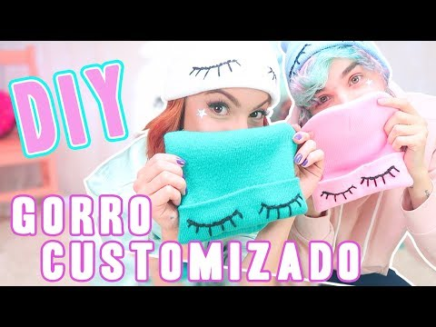 DIY de Inverno – Gorros Personalizados! ft. Erick Mafra